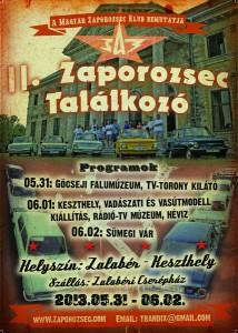 II_Zaporozsec _talalkozo_2013_plakat
